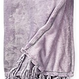 Elle Decor Plush Chenille Throw
