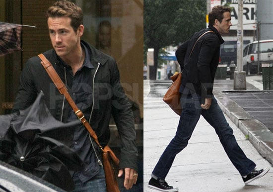 Photos of Ryan Reynolds Taking a Walk in NYC