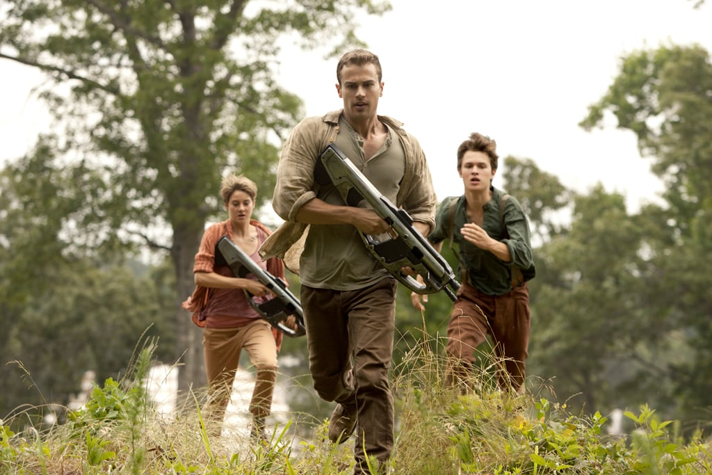 In Insurgent, Four continues the hotness.