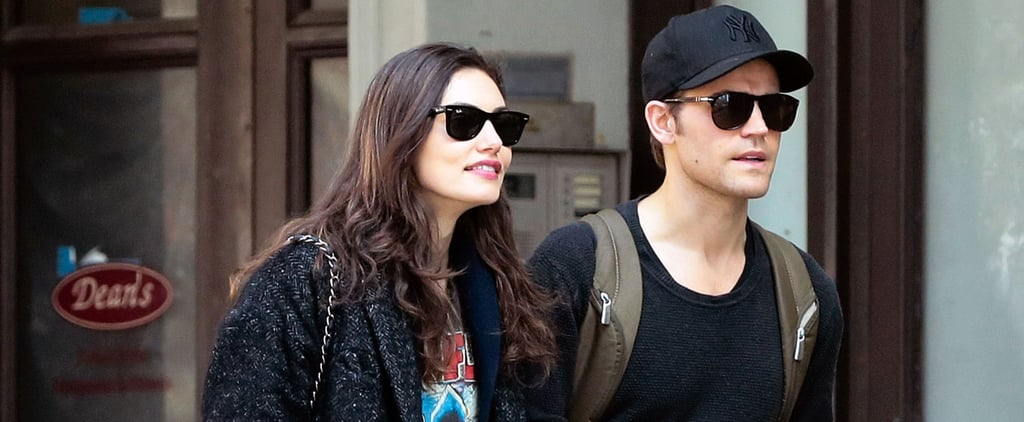 Phoebe Tonkin and Paul Wesley Hold Hands in NYC March 2016
