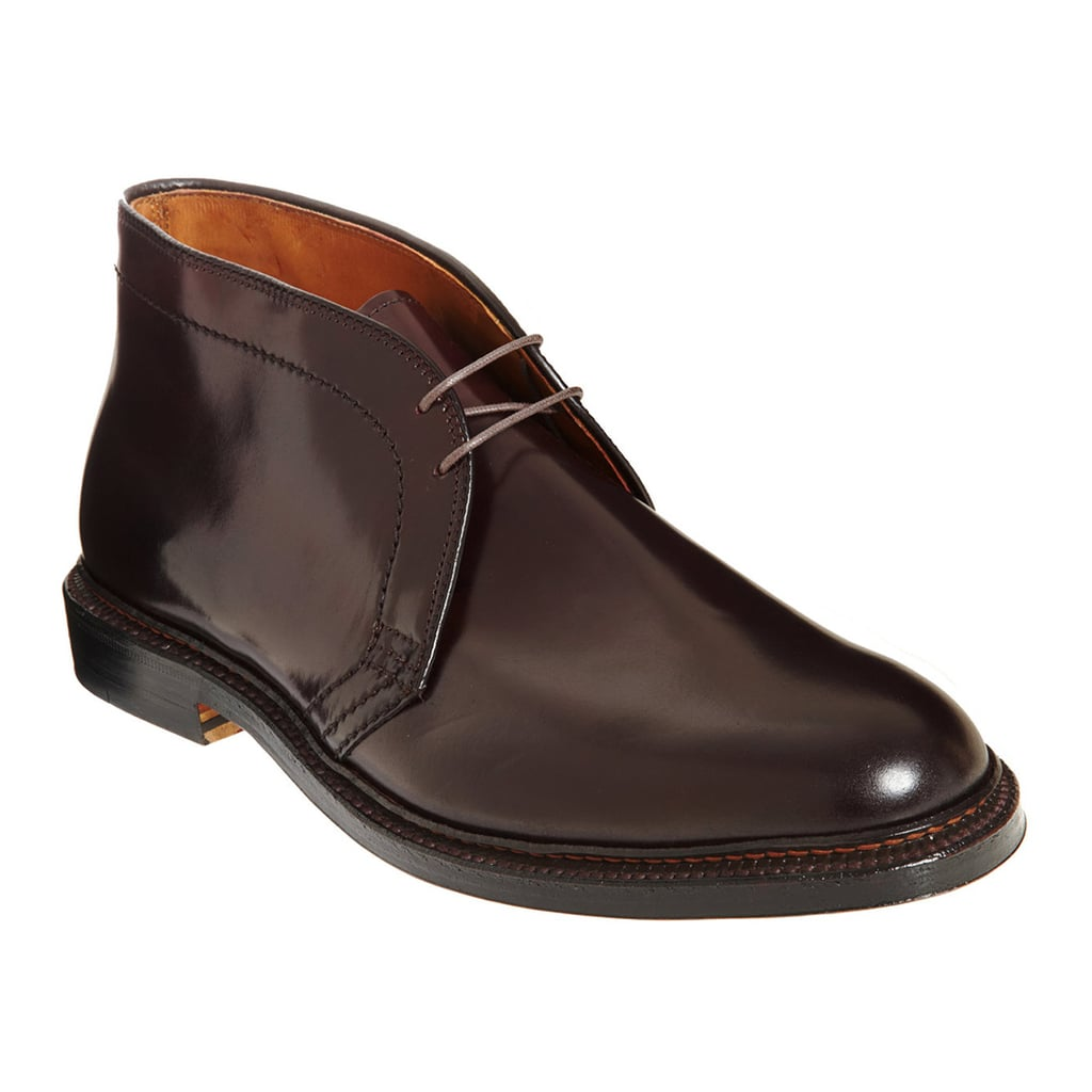 He might not admit it, but this pair of Alden Chukka Boots ($675) will quickly become his favorite — and most used — pair of shoes in his closet.
