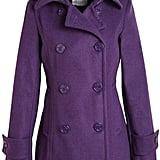 Get a pop of purple on a cold day with this cozy Delia's Devin Peacoat ($63, originally $90).