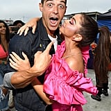 Sarah Hyland and Wells Adams at the 2019 Teen Choice Awards