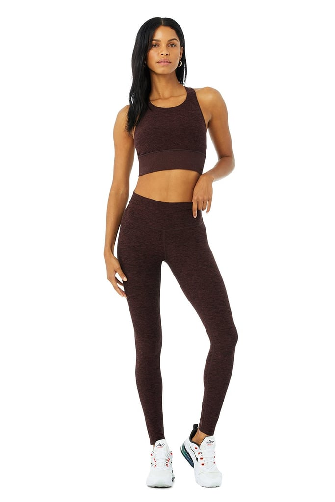 Alo High-Waist Alosoft Highlight Legging & Serenity Bra Set