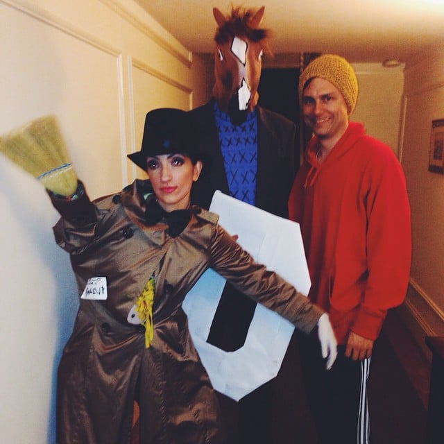 BoJack Horseman and Vincent Adultman (and Todd)