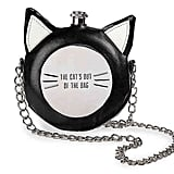 The Crazy Cat Round Flask