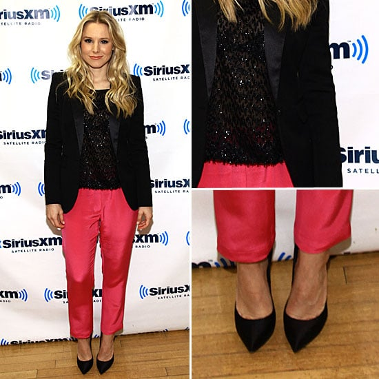 Kristen Bell Red Pants January 2012