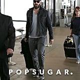 Mark-Paul Gosselaar at LAX Airport October 2016