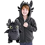 Cubcoats Toothless Dragon 2-in-1 Transforming Hoodie & Soft Plushie