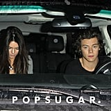 Harry Styles and Kendall Jenner were spotted leaving a restaurant together in West Hollywood, prompting rumors that the two teens could be a new item.