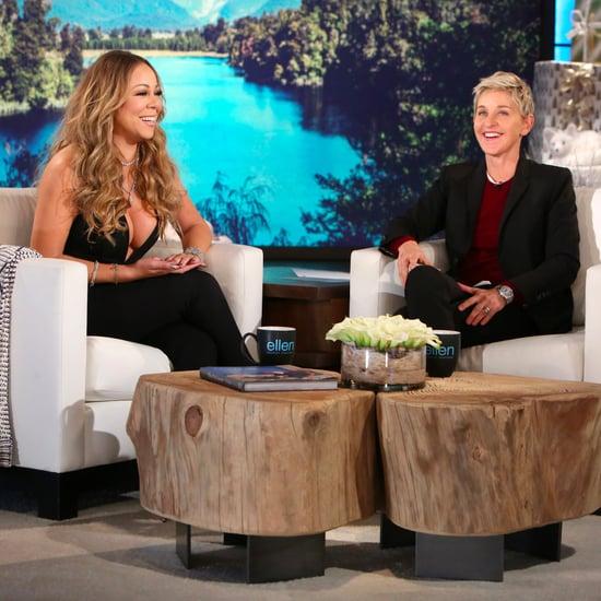 Mariah Carey Talks About James Packer on The Ellen Show 2016