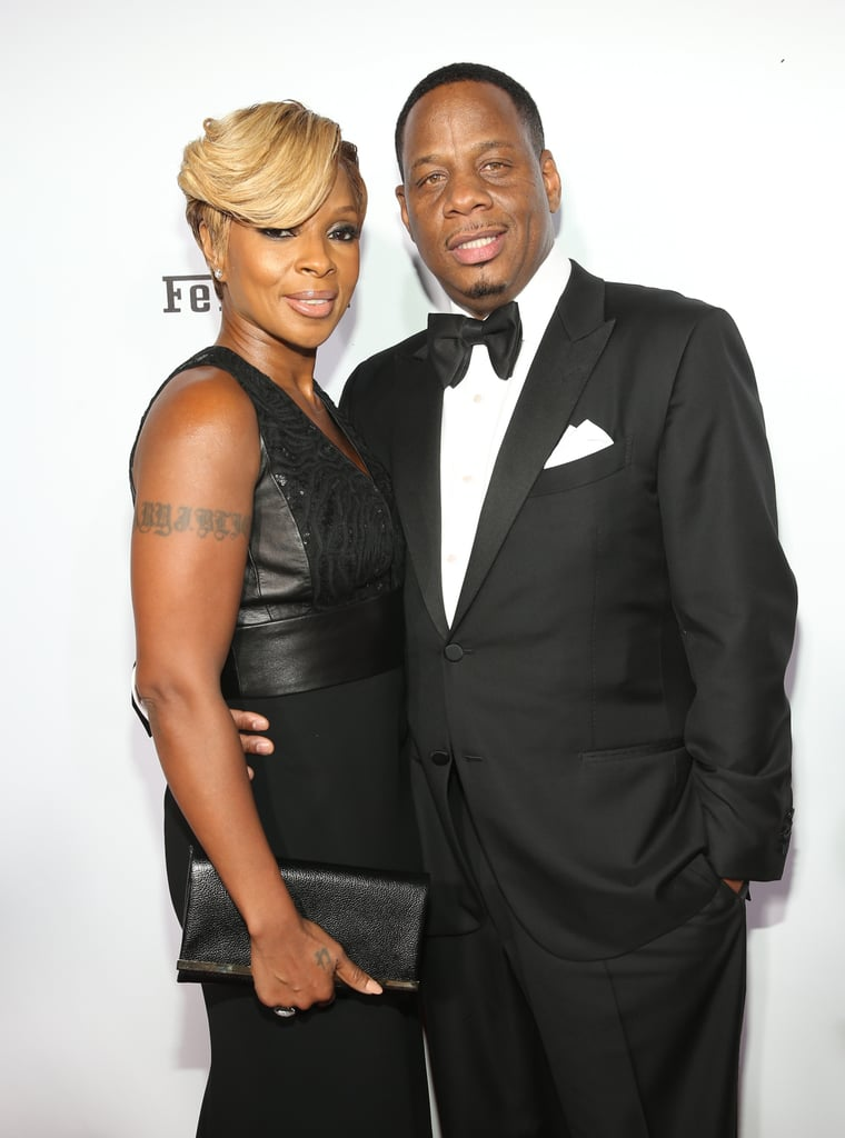 Mary J. Blige and Kendu Isaacs