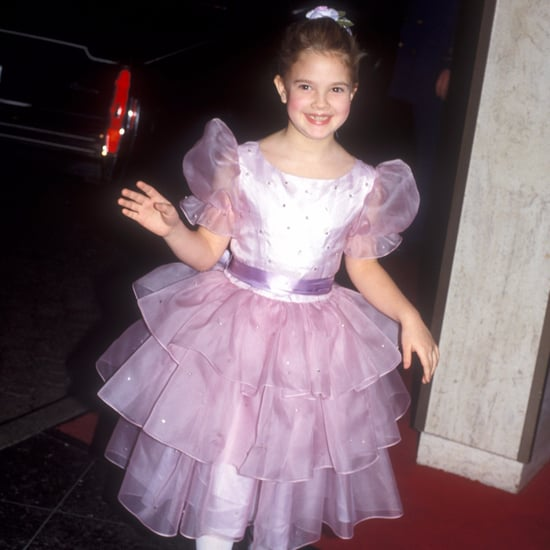 Drew Barrymore at the 1983 Golden Globes