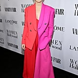 A Red-and-Pink Suit
