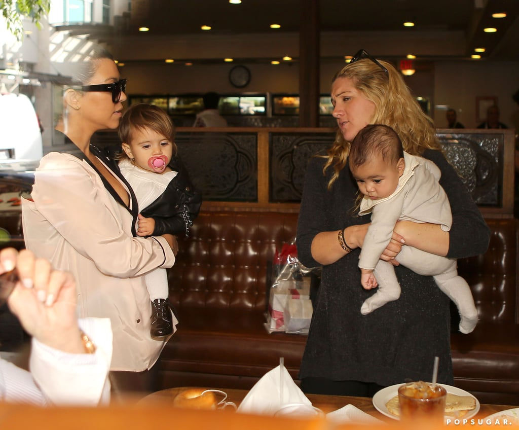 Penelope Disick and North West went out for lunch.
