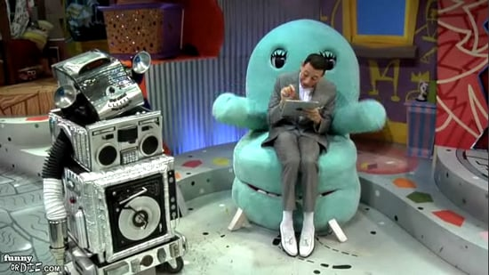 Funny or Die iPad Video Featuring Pee-Wee Herman