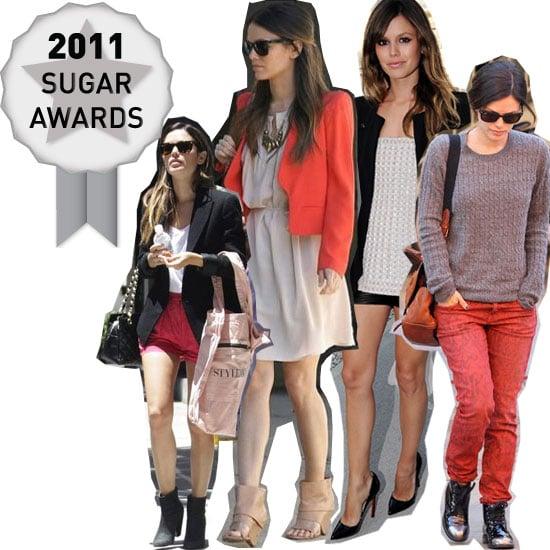 Rachel Bilson's Killer Street Style Wins Our Off-Duty Celebrity Sugar Award for 2011: See Why