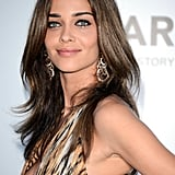 Ana Beatriz Barros smoldered in an animal-printed gown.