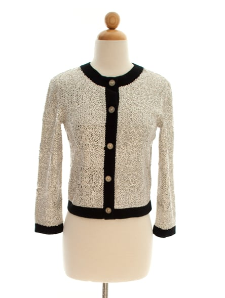 Chanel Confetti Sequin Cashmere Sweater ($1,400)
