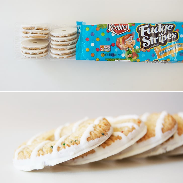 Keebler Fudge Stripes Cookies In Birthday Cake Best New Snacks