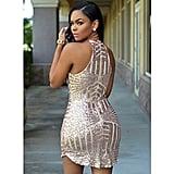 RedLife Women's Sexy Sparkling Sequin Dress