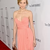 Naomi Watts in Zac Posen at The Impossible Premiere