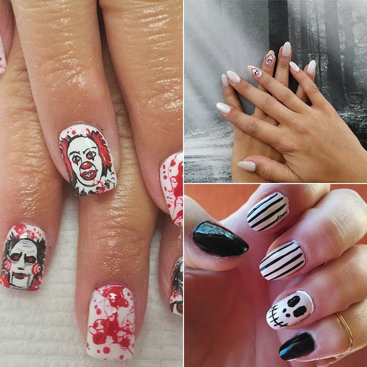 Horror Movie Nail Art Inspiration | POPSUGAR Beauty