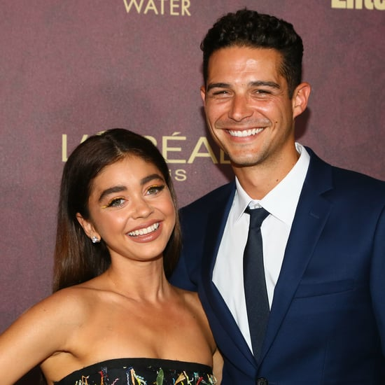 Sarah Hyland Gives Wells Adams a Haircut at Home