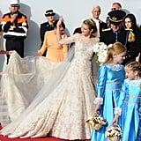 Prince Guillaume and Countess Stephanie  The Bride: Belgian Countess Stephanie de Lannoy, 28, who will renounce her Belgian citizenship. The Groom: Prince Guillaume of Luxembourg, 30, heir to his country's throne. When: Oct. 20, 2012. Where: Our Lady of Luxembourg Cathedral.