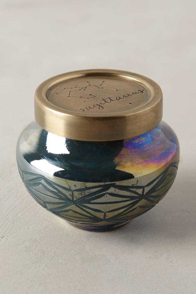 Capri Blue Zodiac Candle ($14)