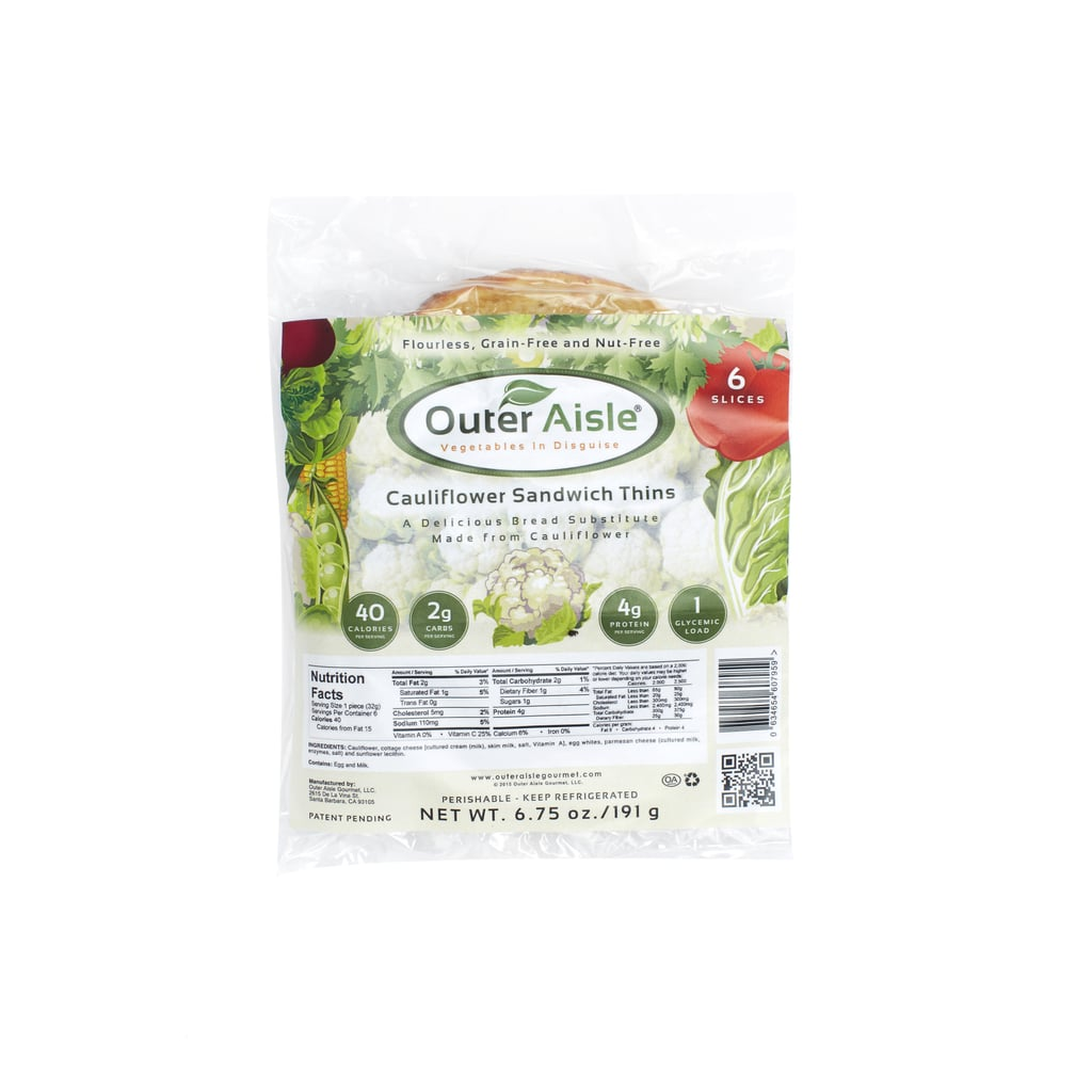 Outer Aisle Cauliflower Pizza Crust and Sandwich Thins