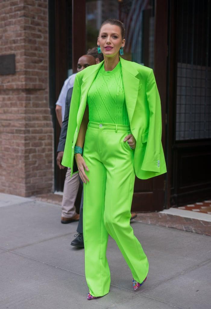 Kim Kardashian Wearing Neon Fashion Trend | POPSUGAR ...