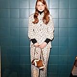 Sadie Sink at the Prada Milan Fashion Week Show