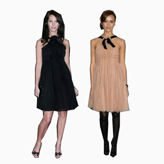 Who wore it better? Jessica v/s Christy v/s Celine