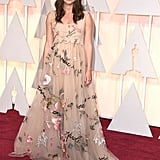 Her Academy Awards Dress Was a Bouquet of Beautiful
