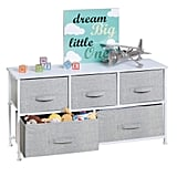 mDesign Extra Wide Dresser Storage Tower