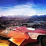 """Jared showed off the """"view of Silicon Valley from my plane.""""  Source: Instagram user jaredleto"""