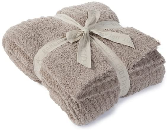 Barefoot Dreams CozyChic Ribbed Throw Blanket