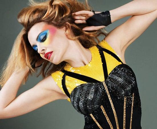 Kylie Minogue does Instinct mag-sept 09