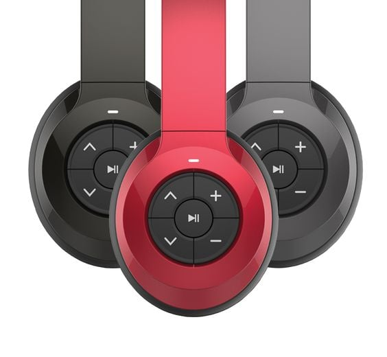 """The headphones: Jam Transit Bluetooth Headphones ($50) The why: """"I use these every day on my walking commute. I love that I don't have to tangle myself in the cords."""" — Patrick McDougle, software engineer"""