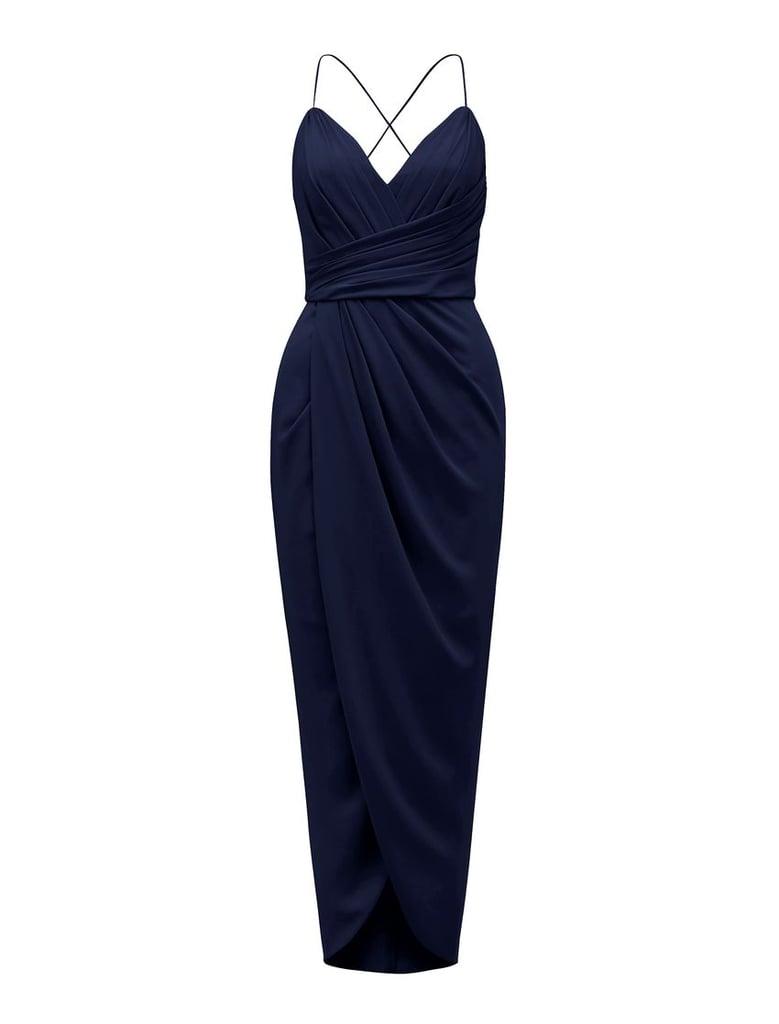Forever New Charlotte Drape Maxi Dress ($170)
