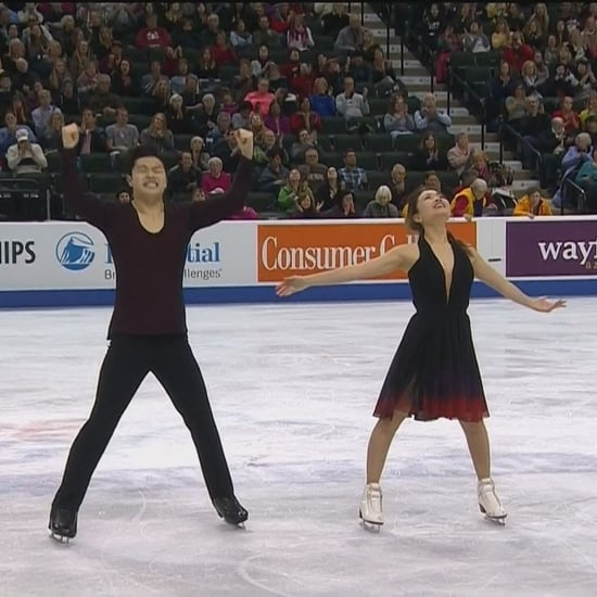"Maia and Alex Shibutani Ice Dancing to ""Fix You"""