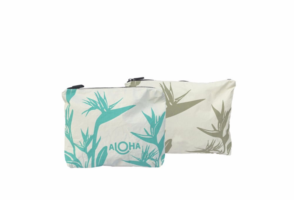 Aloha Wet-Dry Reversible Small Bag