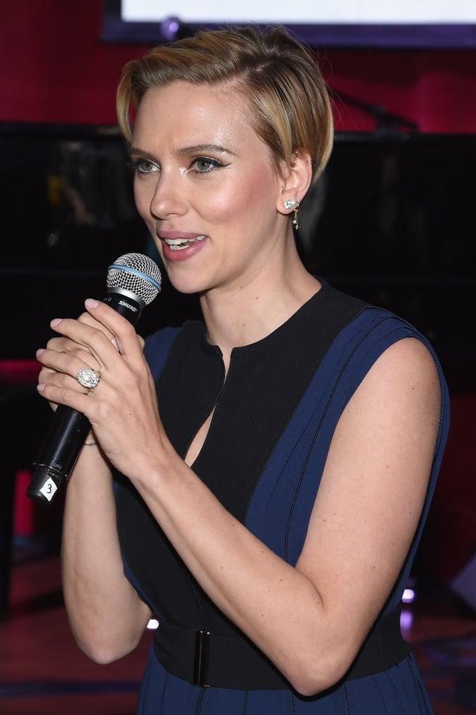 Scarlett Johansson Wedding Ring Pictures