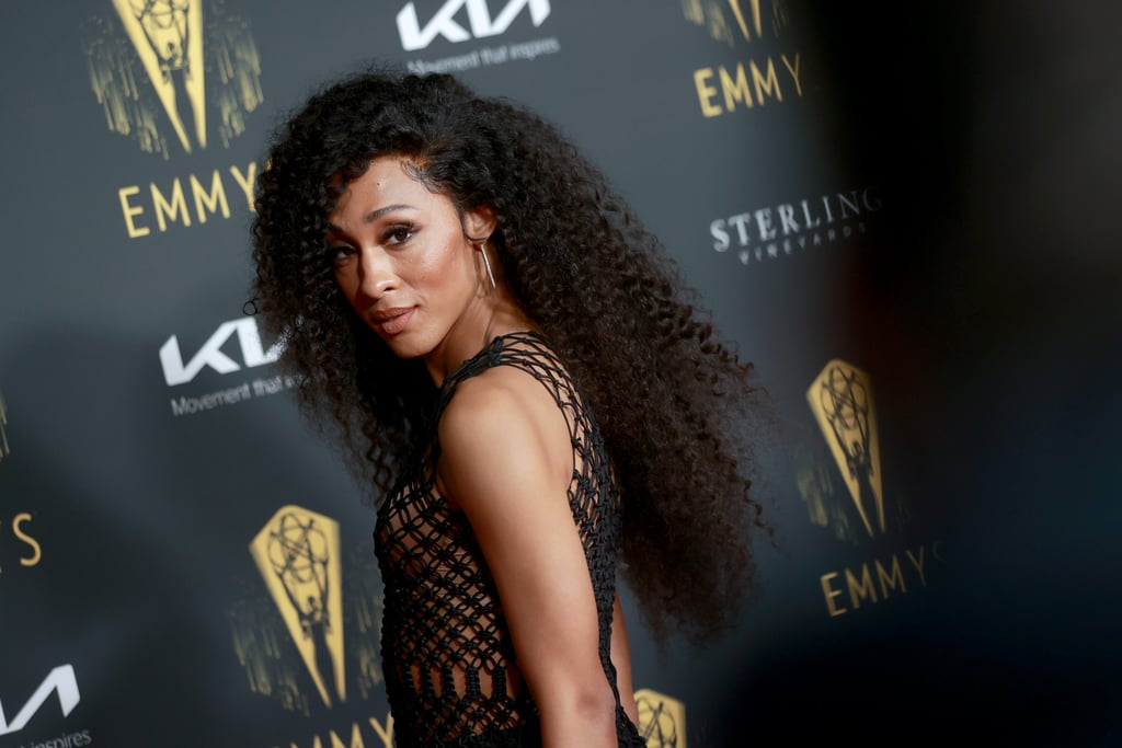 """Mj Rodriguez made Emmys history with her recent lead actress nomination for her role as Blanca Evangelista on Pose, becoming the first transgender woman to be recognized in a lead acting category at the ceremony. Now, Mj could be making history once again if she wins at Sunday's Emmys. Ahead of the award show, Mj attended TV Academy's annual pre-Emmy party on Friday, where she celebrated her historic nod.  """"I want to constantly keep making history. I want to be at the front of change."""" """"I just want to constantly keep making that change,"""" Mj told Variety's Marc Malkin on the red carpet. """"I want to constantly keep making history. I want to be at the front of change . . .  I am testimony that it is possible. There's no excuses. The door is wide open and you can run right through it. There's no crack. There's no slipping in."""" The actress also revealed that she already has a speech written in case she wins and that her Pose costars Billy Porter and Indya Moore have been texting her all weekend. """"I'm glad that people in my life can come and celebrate this moment with me. It's big."""" Not only is Mj's Emmy nod historic, but it's also her first time being nominated at the ceremony. """"I'm excited. I'm lifted. I'm thankful. I'm humbled and I'm grateful,"""" she told People. """"I feel like this moment in time has never ever happened for a girl like myself and I feel like it's time and it's time to keep showing up. It doesn't stop here."""" Win or lose, Mj is opening doors for more transgender representation in Hollywood.      Related:                                                                                                                                Mj Rodriguez Hits All the High Notes in Glamorous """"Something to Say"""" Music Video"""