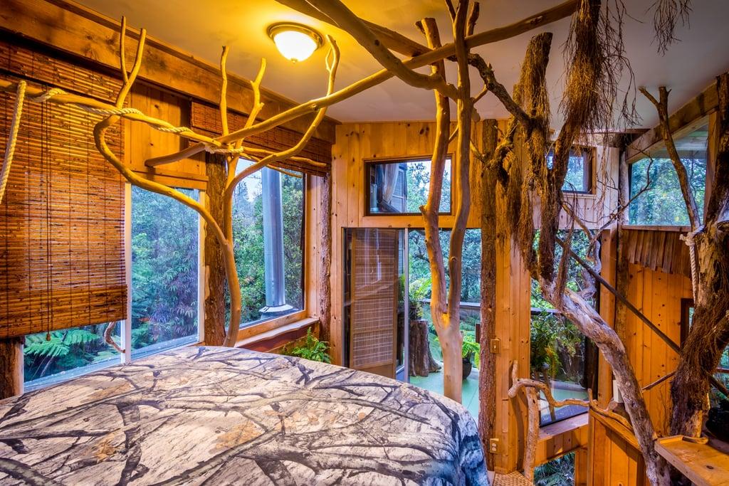 Tree Houses Big Island Hawaii