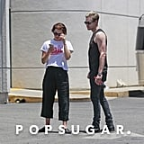 Emma Watson and Chord Overstreet PDA Pictures June 2018