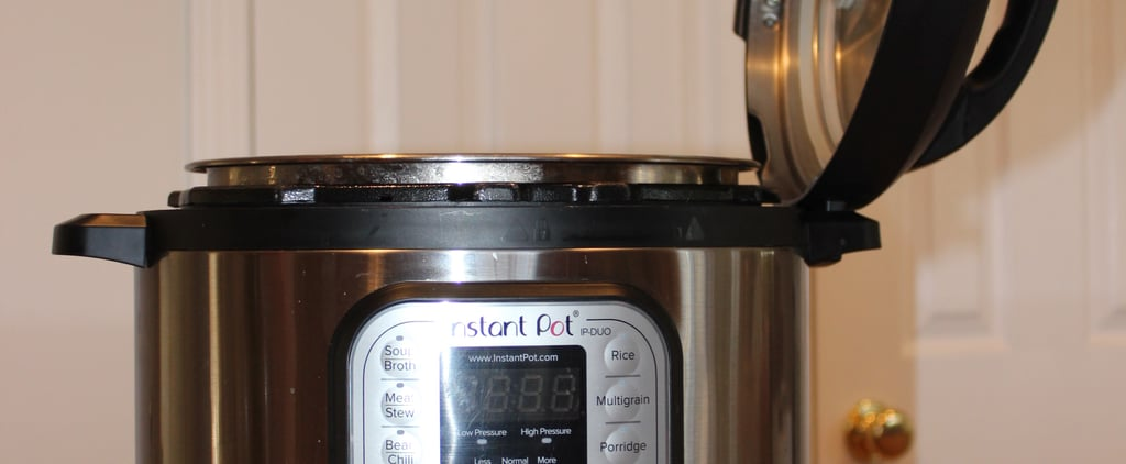 The Instant Pot Has a Built-In Lid Holder