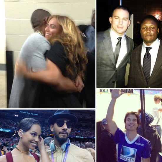 Beyoncé Hugs Jay-Z & More Behind-the-Scenes Celeb Super Bowl Moments