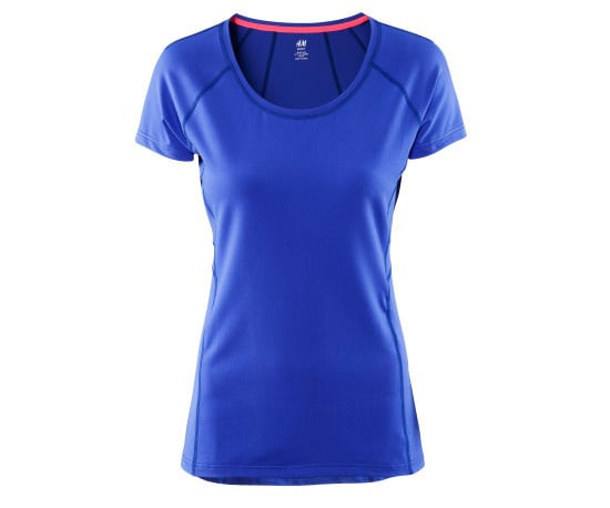 Sports tee ($18) from H&M Sports collection.